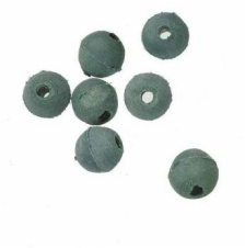 6mm Rubber Shock Beads for Carp Rigs